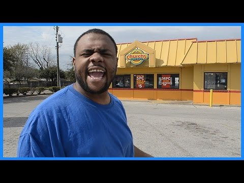 BLACK MAN ANGRY AT CHURCH'S CHICKEN @dcigs