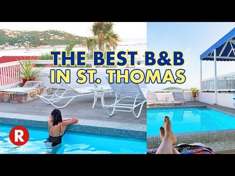 At Home In The Tropics Bed & Breakfast Inn Tour // St. Thomas, US Virgin Islands