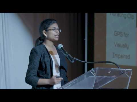 Riya Pitching her Smart Cane Business @ Digital Transformation Conference HD Version