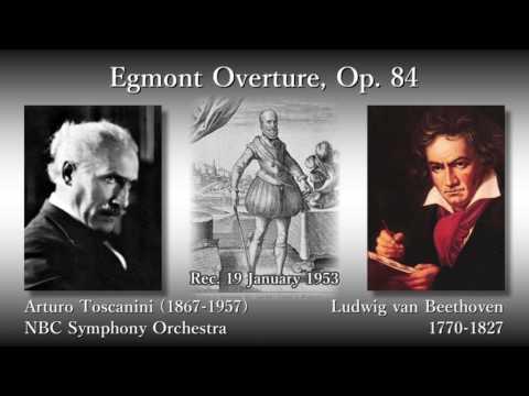 Beethoven: Egmont Overture, Toscanini & NBCso (1953) ベートーヴェン エグモント序曲 トスカニーニ