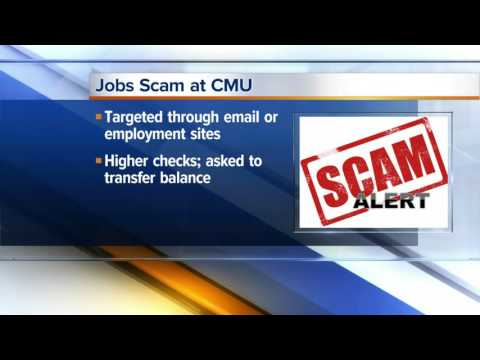 Jobs scam reported at CMU