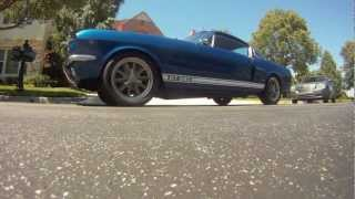 1966 Ford Mustang GT350 Clone - Sunday Drive GoPro HD