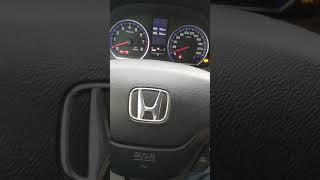 сброс ошибки давления в шинах Хонда срв