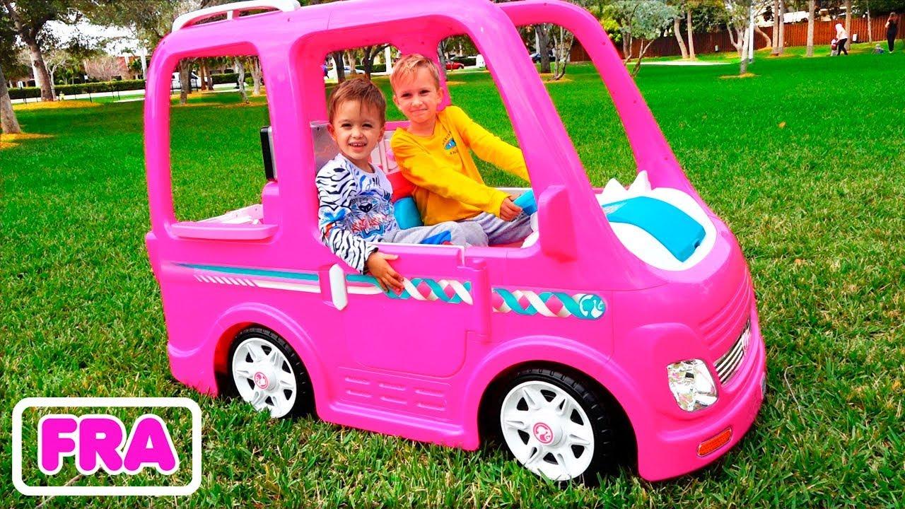 Download Vlad et Nikita vont au camping avec la voiture de Barbie