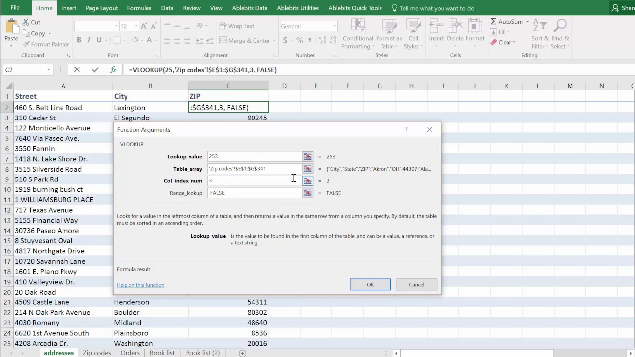 Excel VLOOKUP not working - fixing N/A, NAME, VALUE errors
