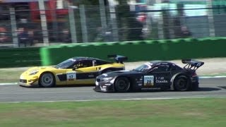 BEST Sounds of GT Masters - BMW Z4 - Audi R8 LMS - Alpina B6 and a great Chevy Camaro V8 Hockenheim