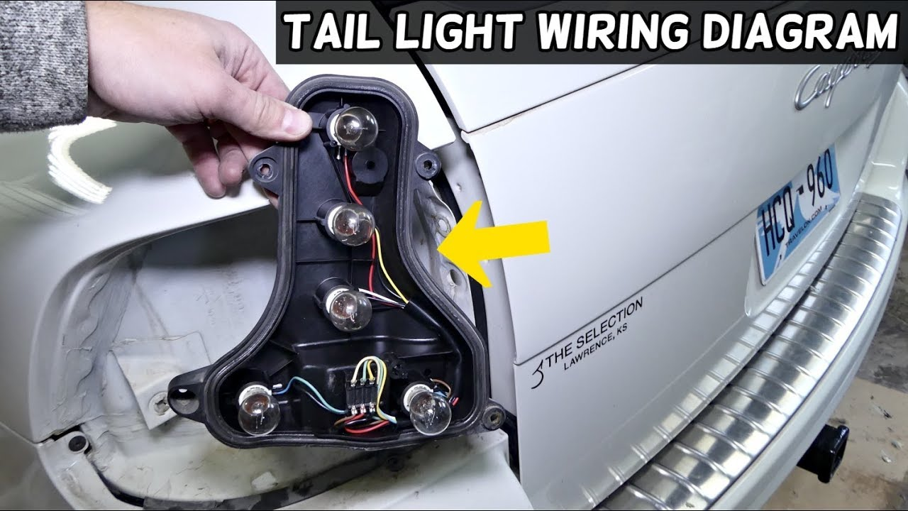 PORSCHE CAYENNE TAIL LIGHT WIRING DIAGRAM - YouTube