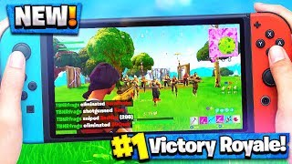 MY FIRST TIME PLAYING FORTNITE on NINTENDO SWITCH! - Fortnite: Battle Royale Gameplay