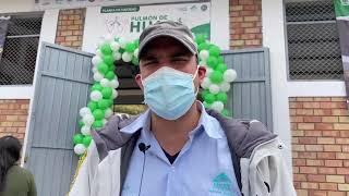Inauguración de la Planta de Oxigeno
