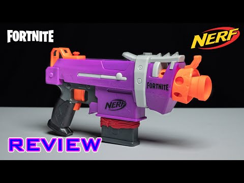 [REVIEW] Nerf Fortnite SMG-E | Stryfe Reskin!!