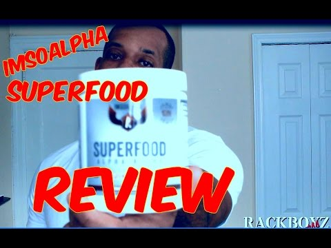 IMSOALPHA SUPERFOOD REVIEW