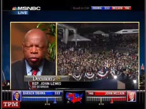 Rep. John Lewis (D-GA) On Obama's Victory