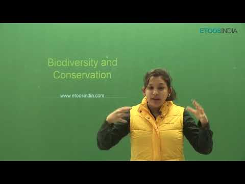 Biodiversity and Conservation  video lectures by Shivani Bha