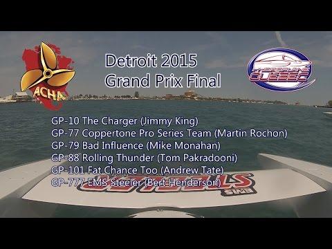 Detroit 2015 Grand Prix Final