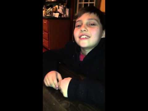 Interview with boy who claims he's been smoking since 2DAYS