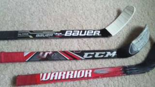 Custom mini hockey sticks for sale!
