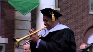 "Wynton Marsalis Plays ""When the Saints Go Marching In"" at UVM Commencement"