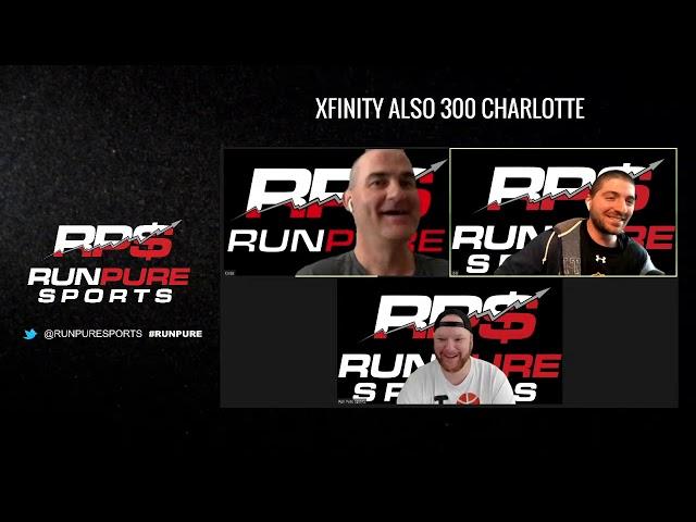 Alsco 300 Charlotte   Xfinity DFS Picks 5-25-20