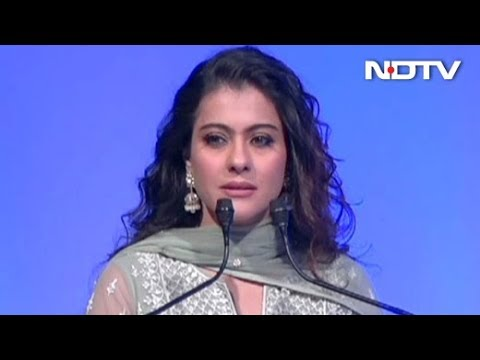 Kajol's Full Speech On Swachh Aadat Swachh Bharat Initiative