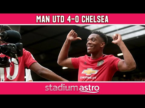 Manchester United 4 - 0 Chelsea   EPL Highlights   Astro SuperSport