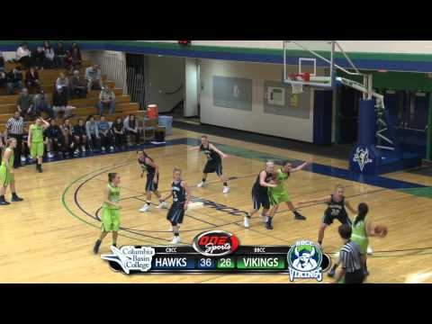 Women's Basketball - BBCC vs. Columbia Basin (1/22/14)