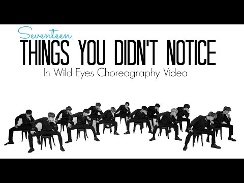 Things You Didn't Notice In Seventeen's Wild Eyes Choreography Video