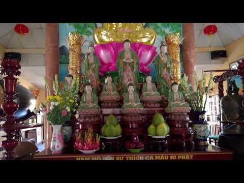 In 4K (ultra HD) Chùa Ngọc Bửu Hương Kiên Giang/ Ngoc Buu Huong Pagoda Kien Giang , Viet Nam  4K