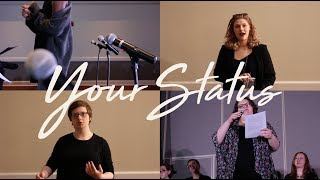 Your Status | The cast of 'Vagina Monologues' is not afraid to say anything