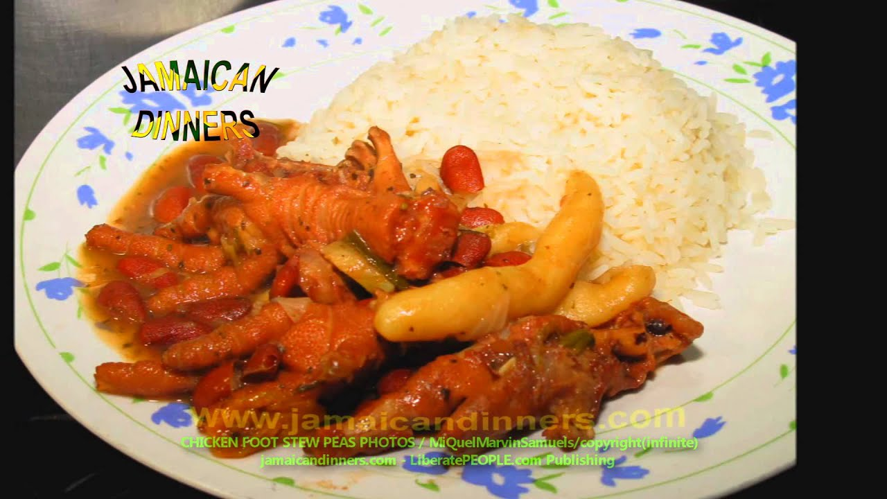 jamaican stew peas with chicken recipe