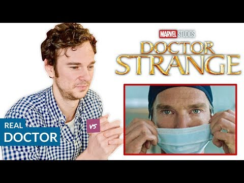 Real Doctor reacts to DOCTOR STRANGE   Hospital Movie Scenes Review