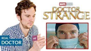 Real Doctor reacts to DOCTOR STRANGE | Hospital Movie Scenes...