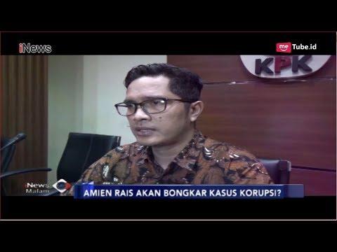 Reaksi KPK Soal Ancaman Amien Rais akan Bongkar Kasus Korupsi - iNews Malam 09/10