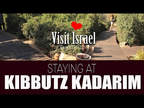 Kibbutz Kadarim, Israel