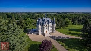 Exceptional Chateau for sale near Poitiers, France : 3824445