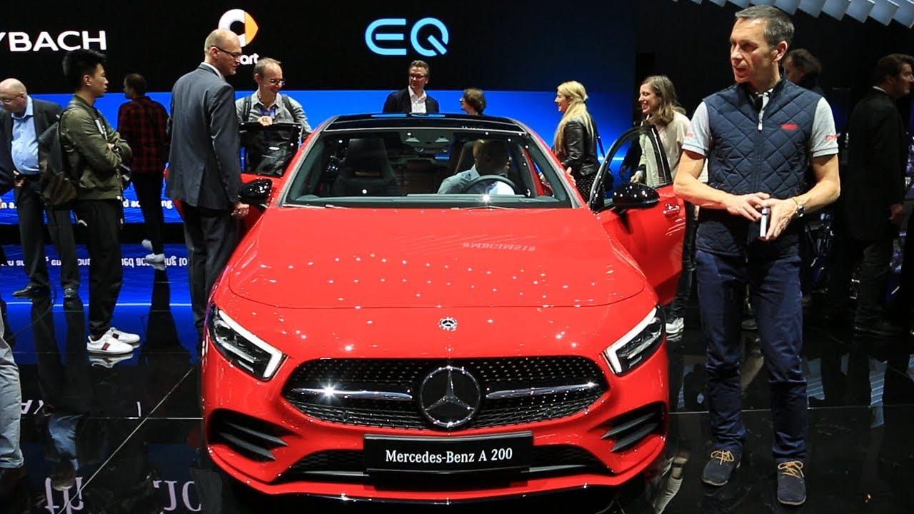 Mercedes Classe A Salon De Genève 2018 Youtube