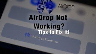 Airdrop Not Working?