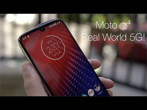 The moto z4 and 5G Moto Mod: Real World Testing!