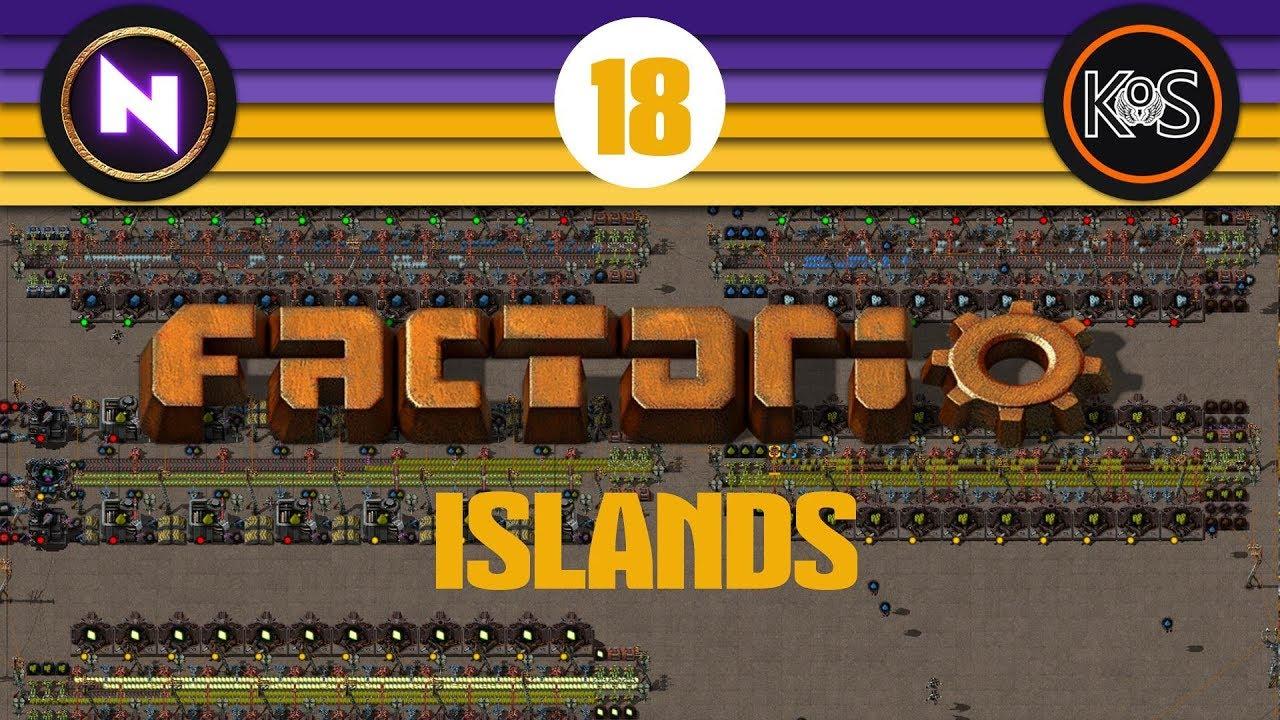 Factorio Islands! Ep 18: SILLY MISTAKES/YUOKI PRODUCTION - Yuoki