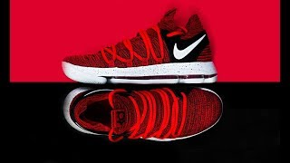 Gambar cover FIRST LOOK: Nike KD X (10) 'Red Velvet' | SHIEKH