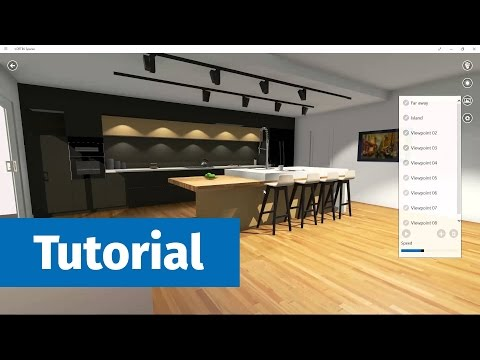 Modern Kitchen Tutorial - Cabinet Vision Job to VORTEK Spaces