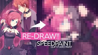 My Doll • REDRAW! (2012→2020) ★ Speedpaint