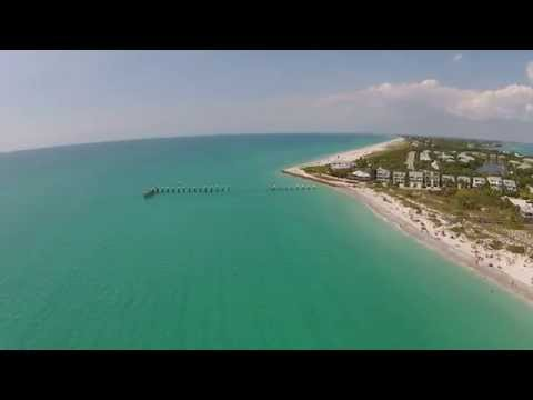 drone flight @ gasparilla island short version
