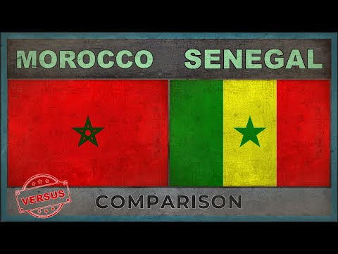 MOROCCO vs SENEGAL | Military Comparison - Who Would Win? (2018)