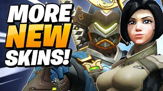 OVERWATCH NEW ARCHIVES SKINS!
