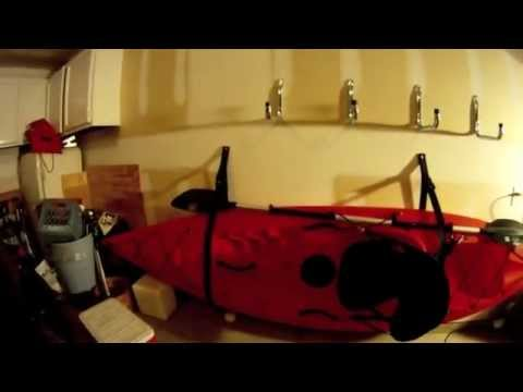 Kayak Wall Hanger >> Gopro Hd Kayak Wall Hanger Product Review How To Youtube