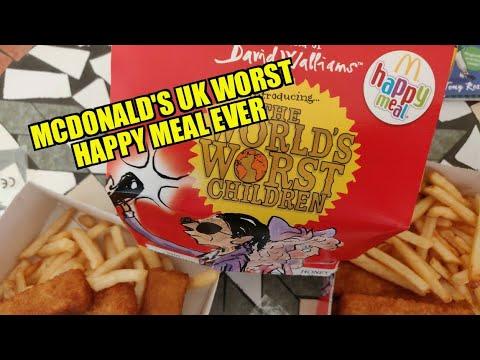McDonalds happy meal 2019 David Walliams Miss Petula Perpetual Motion book