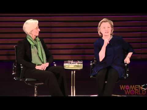 A Conversation With Hillary Clinton and Christine Lagarde: On The Double Standard in the Media