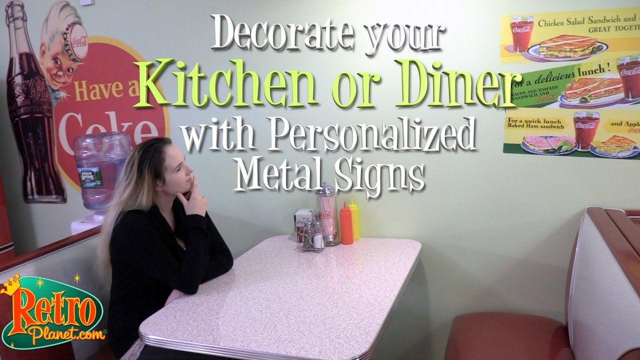 How to Personalize your Kitchen with Coca-Cola Metal Signs