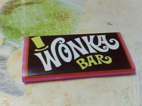 Willy Wonka Chocolate Golden Ticket from Willy Wonka and the ...