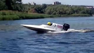 Чемпионат Украины по водно-моторному спорту. Днепр 2018   Ukraine motor-boating sport. Dnepr 2018